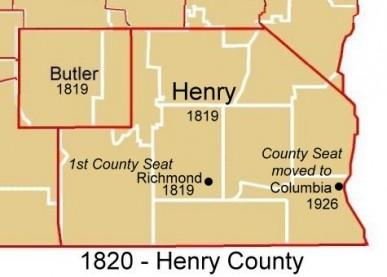 Henry County - 1820