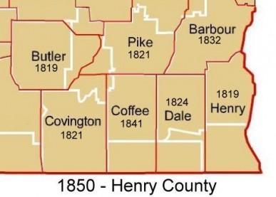 Henry County - 1850