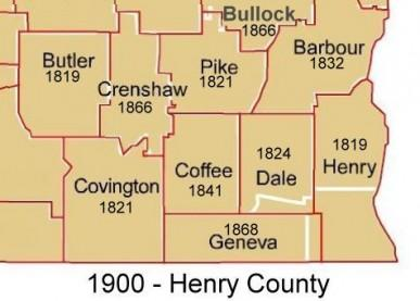 Henry County - 1900